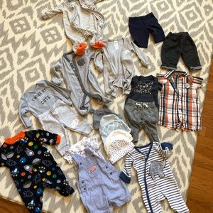 Other - Set of newborn clothes-boy